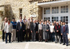 Participants in the Neutronics meeting in Cadarache.