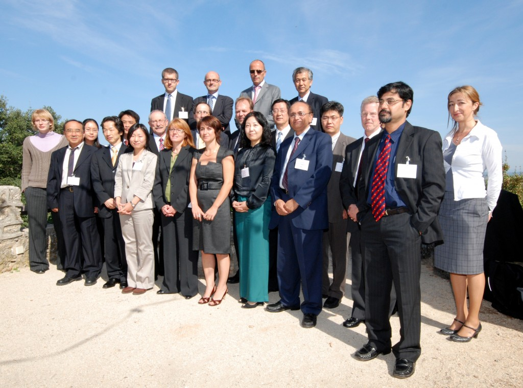 The ECWG brings together some twenty representatives of governments, Domestic Agencies and Export Control authorities from every ITER Member. (Click to view larger version...)