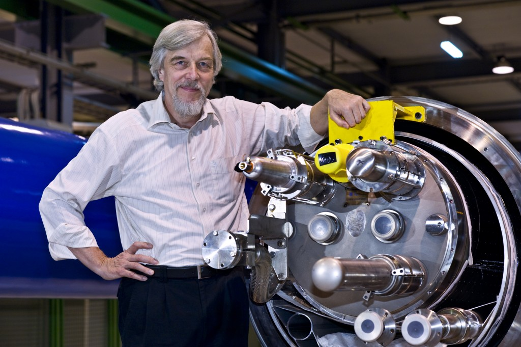 Rolf-Dieter Heuer has been leading one of the world's most famous science labs since January 2009. Photo: CERN (Click to view larger version...)
