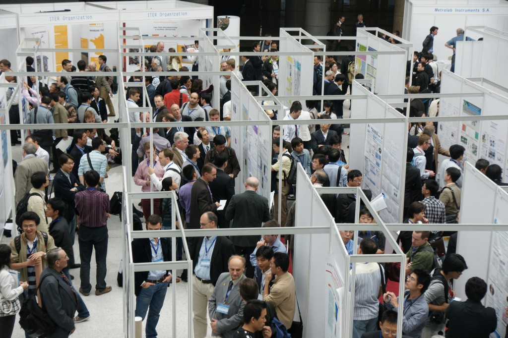 Hundreds of specialists gathered in Hefei to exchange ideas and catch up with developments in the field of magnetic science.  (Click to view larger version...)