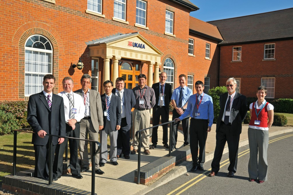 Participants from ITER, UKAEA, AREVA, and industry experts convened at the UKAEA Headquarters in Chilton, UK on 29-30 September to discuss decontamination and cleaning methods. (Click to view larger version...)