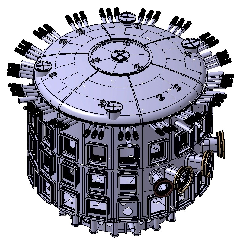 The ITER Cryostat has now successfully passed the Conceptual Design Review milestone. (Click to view larger version...)