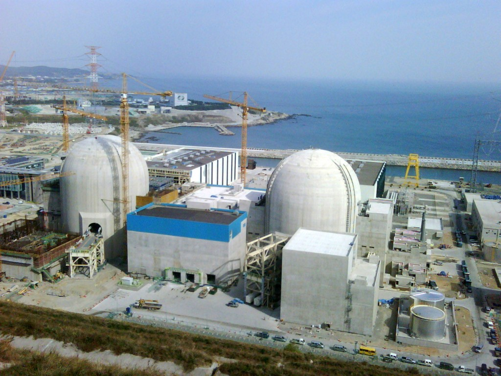 The mission delegation was given the rare opportunity of an extensive walk-down of the nearly completed Shin-Gori nuclear power plant.   (Click to view larger version...)