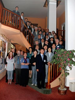 Participants at the first meeting of the Management Advisory Committee to the Interim ITER Council. (Click to view larger version...)
