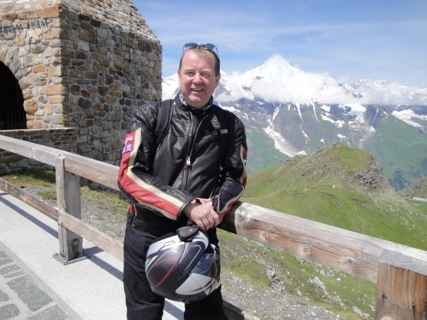 Mark Robinson, In-Kind Management Section Leader for ITER since 1 November, is an avid motorcyclist.