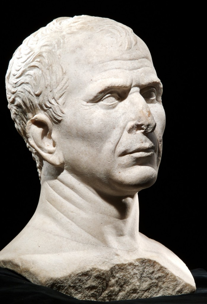 This marble bust is the only one of two surviving representations of the dictator made while he was still alive. ©MDAA (Click to view larger version...)