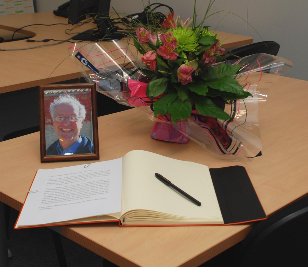 A condolence book has been opened. (Click to view larger version...)
