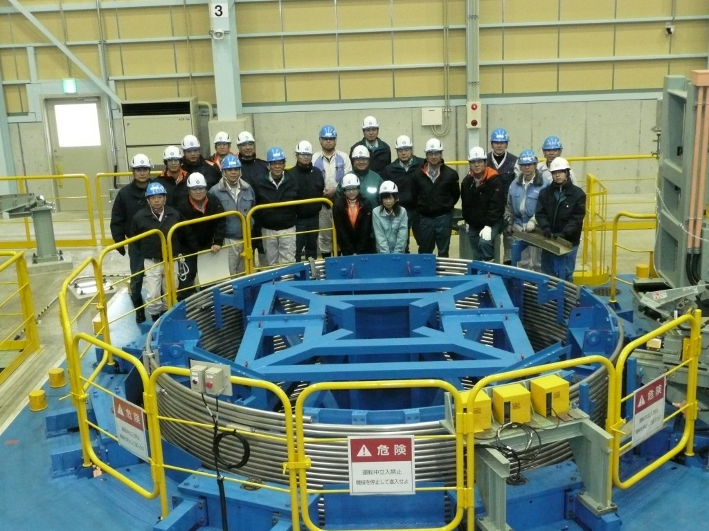The first dummy copper conductor unit length measuring 760 metres was completed this week at Nippon Steel Engineering, Japan. (Click to view larger version...)