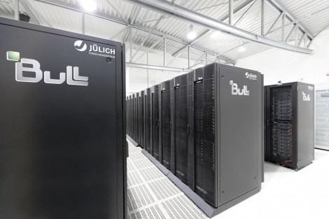 One hundred thousand billion operations per second: the High Performance Computer For Fusion in Jülich, Germany.