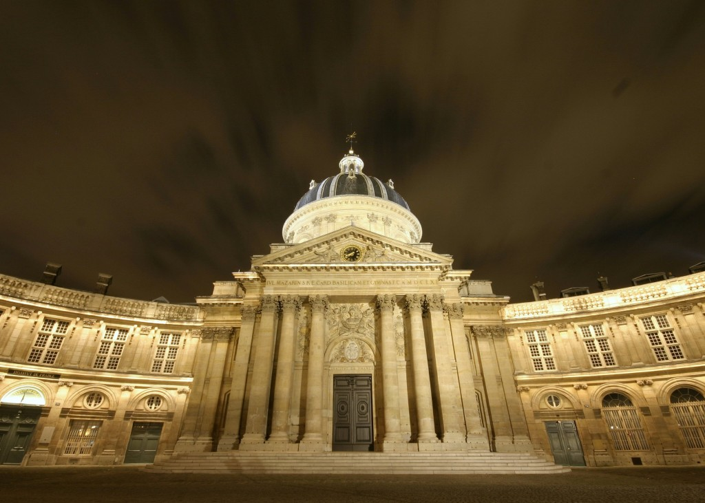 The French Academy, established in 1635, is the guardian of the French language. One of its missions is to define and validate new words that emerge from the world of research and technology. (Click to view larger version...)