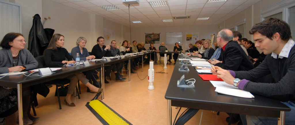 For the first time the communication division of CEA Cadarache met on the ITER premises.
