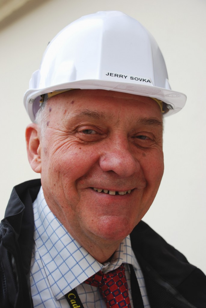 In charge of ITER construction: Jerry Sovka (Click to view larger version...)
