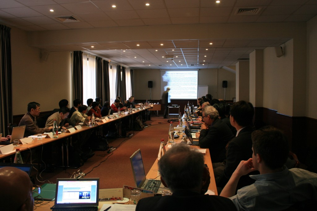 The Test Blanket Working Group during the Meeting at the Aquabella Hotel in Aix-en-Provence.