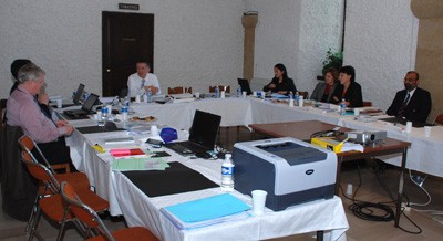 The Financial Audit Board at its kick-off meeting last week. (Click to view larger version...)