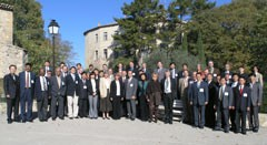 The participants to the Contact Persons meeting in Cadarache. Click to see full picture.