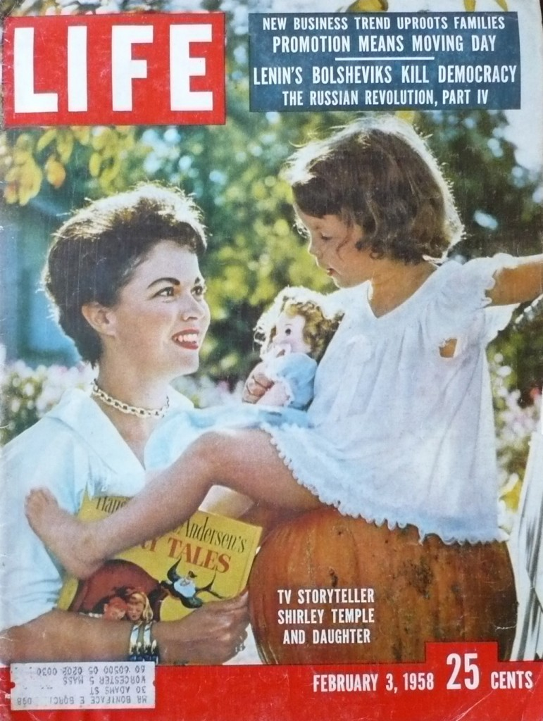 In its 3 February,1958 issue, Life Magazine published an article about Shirley Temple launching a new TV series and the first public audience article on fusion energy.  (Click to view larger version...)