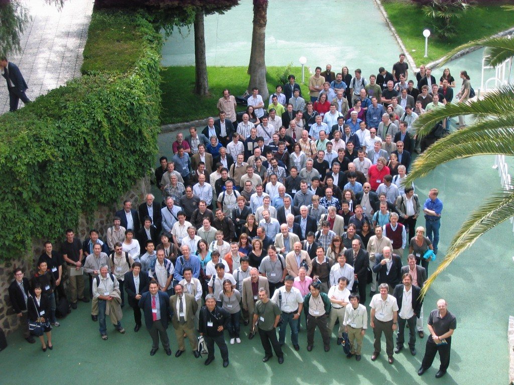 Converging: the participants of the 18th Plasma Wall Interactions Conference (Click to view larger version...)