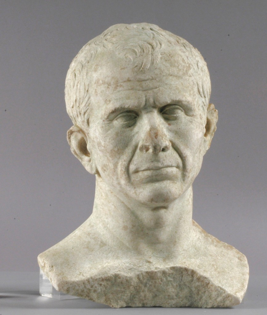 A unique representation of the Roman ruler, carved a couple of years before his assassination.