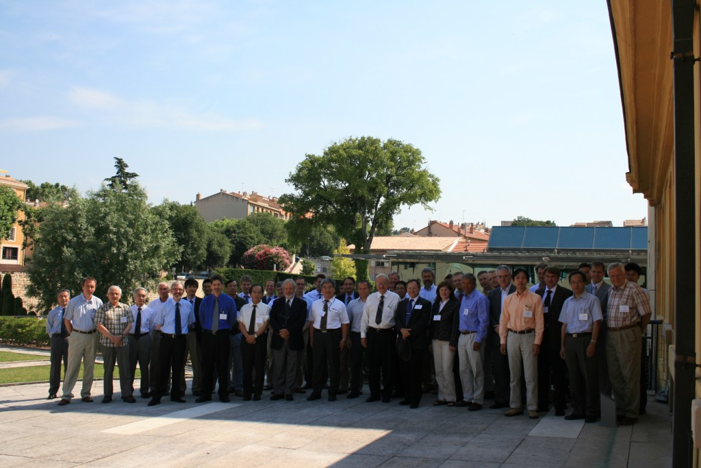 ITPA Coordination Committee during its meeting in Aix-en-Provence last week. (Click to view larger version...)