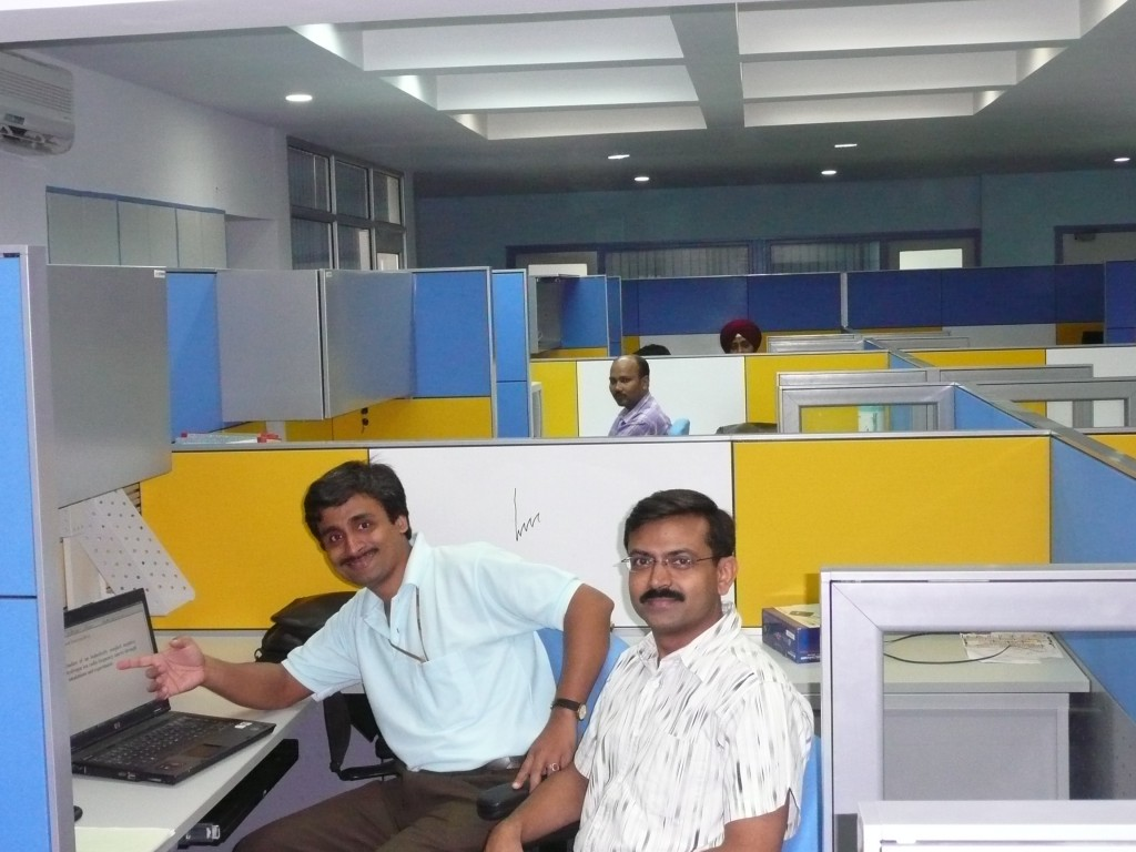 Staff of ITER India in their new office building. (Click to view larger version...)