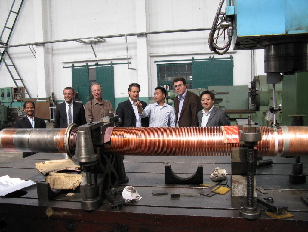 ITER's magnet team visiting the ASIPP workshop. (Click to view larger version...)