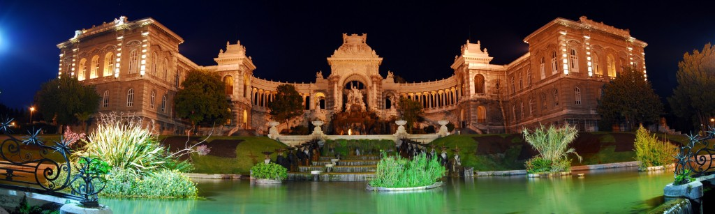 The Palais Longchamp, in Marseille—an elaborate water reservoir. (Click to view larger version...)