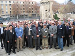 Participants to the Nb3Sn Conductor Modeling workshop. Click on the picture for a high-resolution image.  (Click to view larger version...)