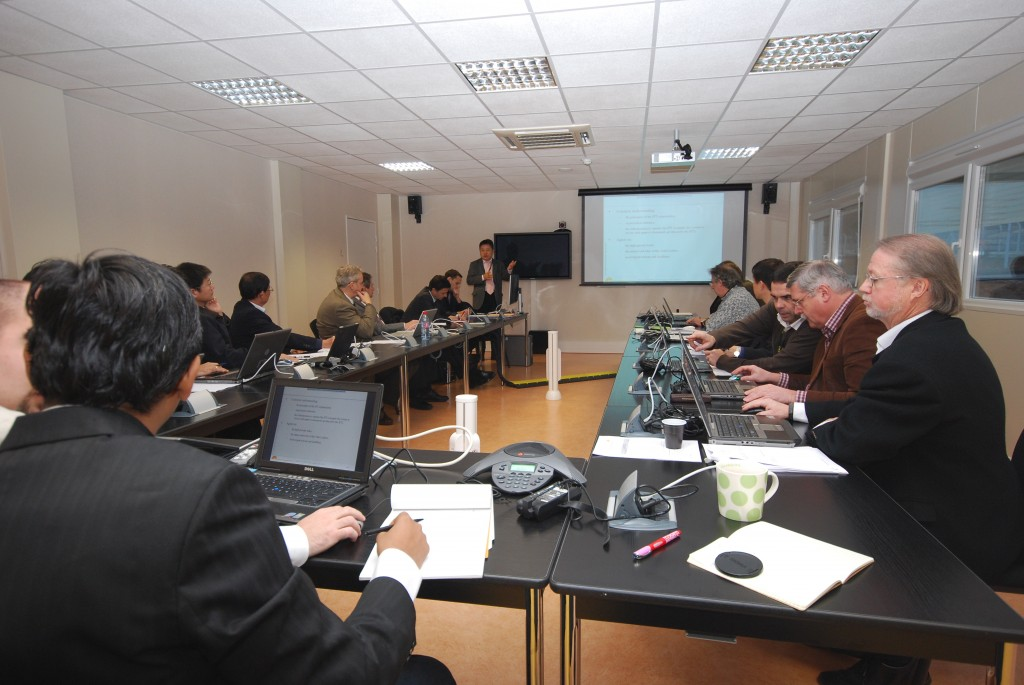 The kick-off meeting for the pilot IPT on ITER power supply.
