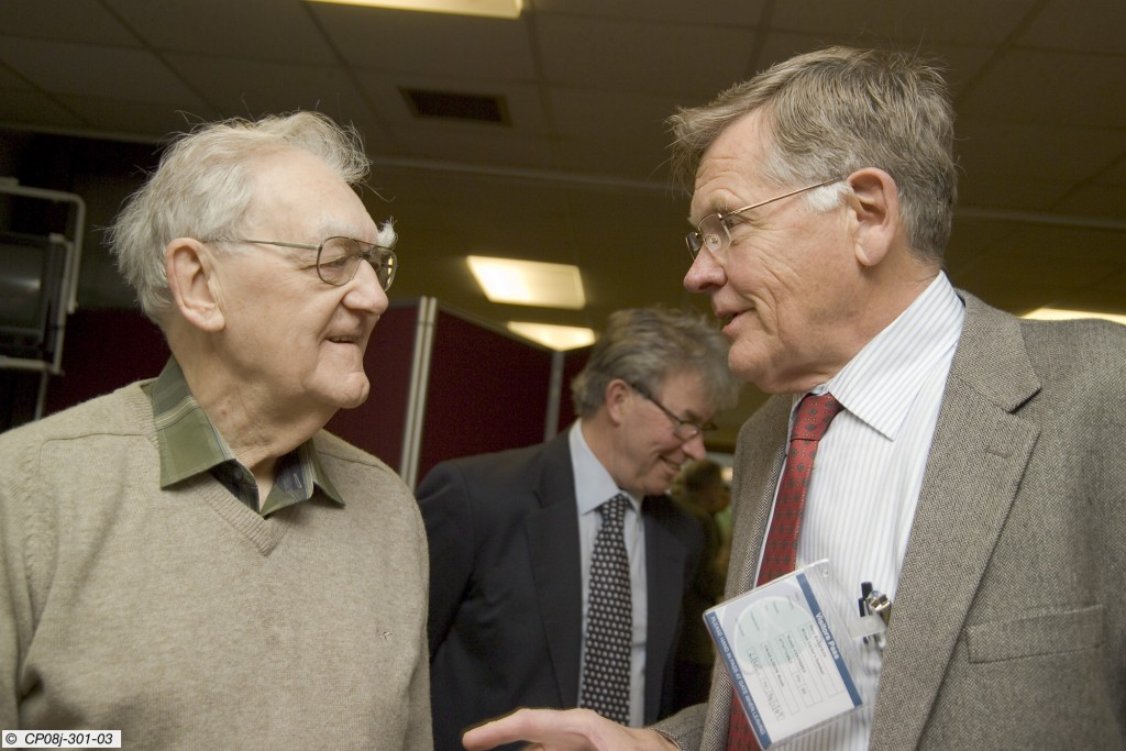 Bryan Taylor's (left) unique contribution to plasma physics for more than 50 years ...