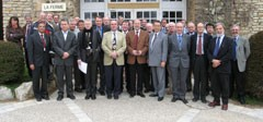 Participants to the Interface Meeting held in Cadarache, 12-16 February. Click on the picture for higher resolution.