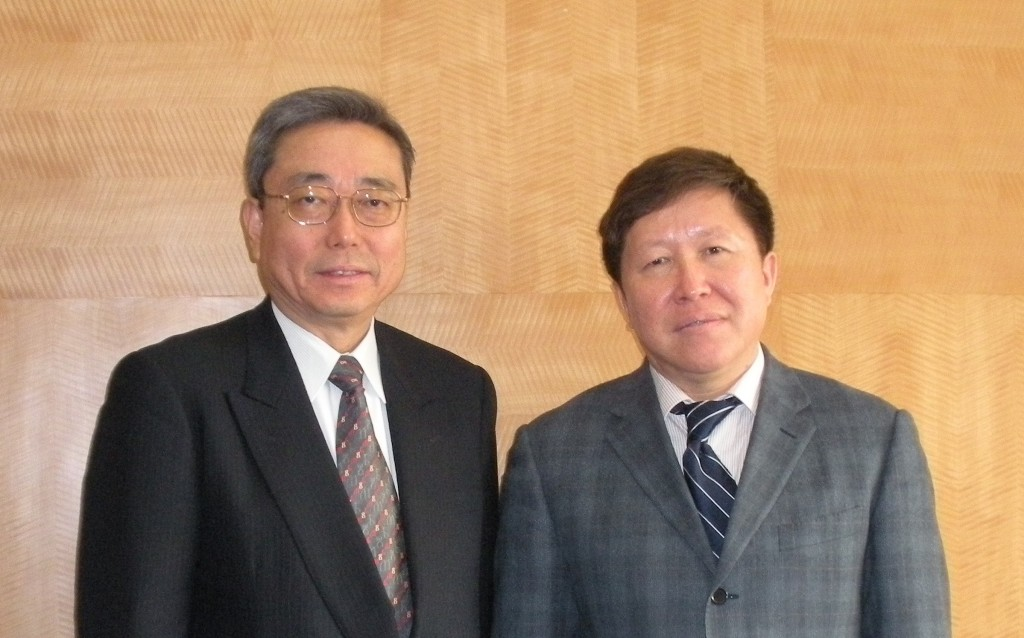 This morning in Beijing: DG Ikeda meets the Vice Minister of MOST, Cao Jianlin...
