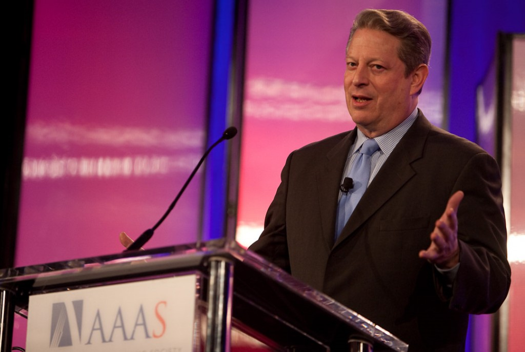 """Our world is in danger. We as a species must make a decision."" Former US Vice-President Al Gore appealed to scientists at this year's AAAS Assembly in Chicago. © Colella Photography, 2009 (Click to view larger version...)"