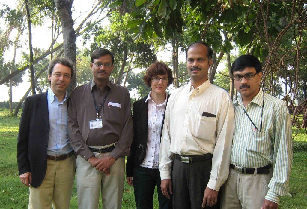 Alessandro Tessini, K.K. Gotewal, Magali Benchikhoune, R. Subramanian and V. Chaudhari (left to right). (Click to view larger version...)