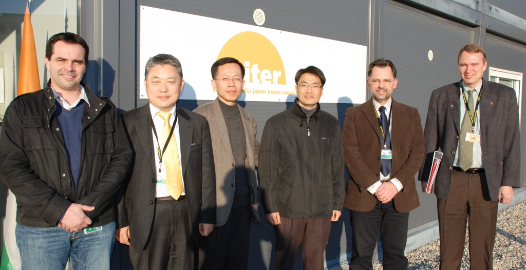 Power Supply welcomes their new colleagues from Korea: Joel Hourtoule, Yong-Hwan Kim, Suksoon Chae, Jonghyo Jeong, Ivone Benfatto and (guest starring) Günter Janeschitz.