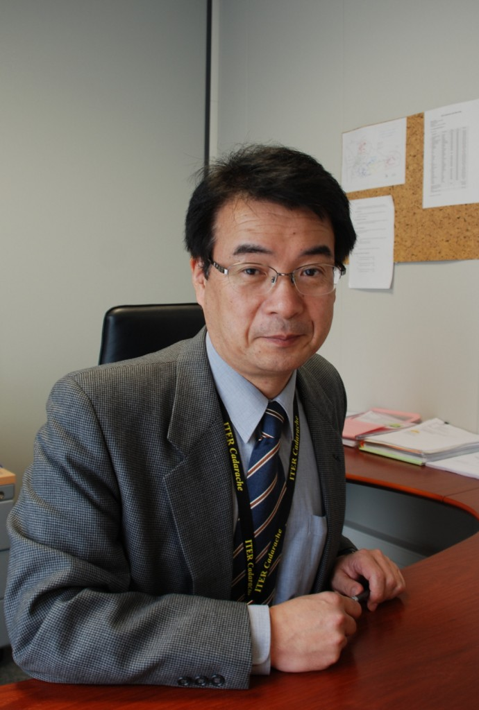 Eisuke Tada has devoted twenty years of his life to ITER. (Click to view larger version...)