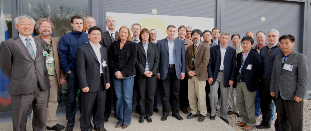 Tritium and cryogenic experts from around the world meet in Cadarache. (Click to view larger version...)