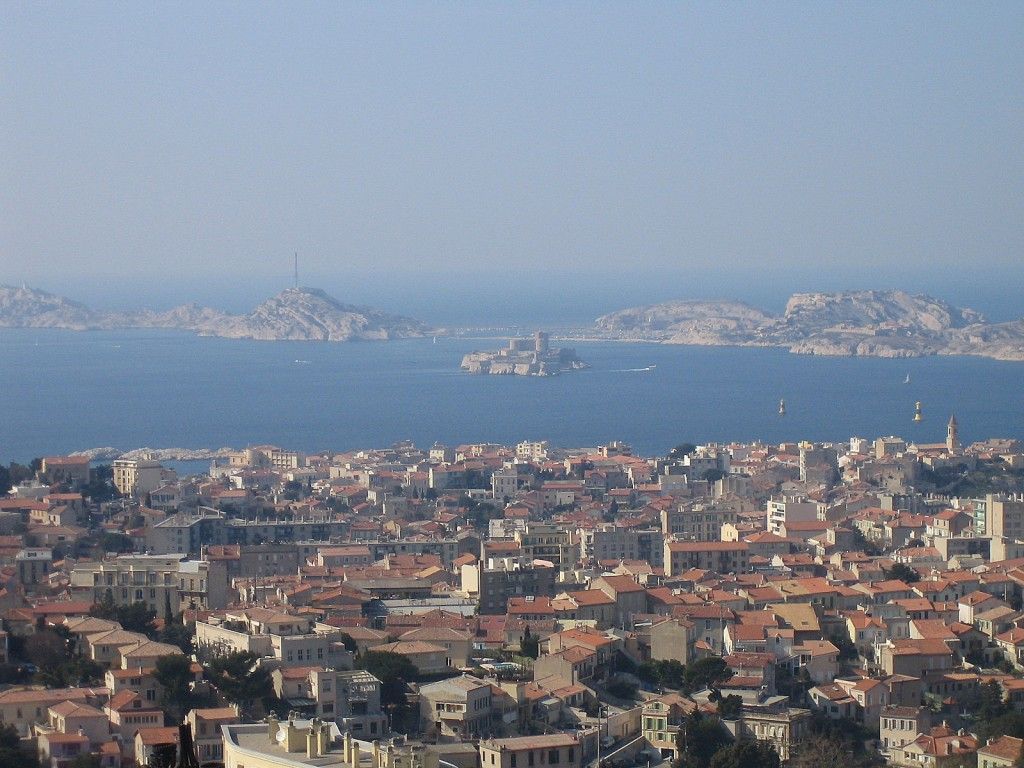 The fortress and former state prison of Château d'If was built in the early 1500s on an islet in the Bay of Marseille.