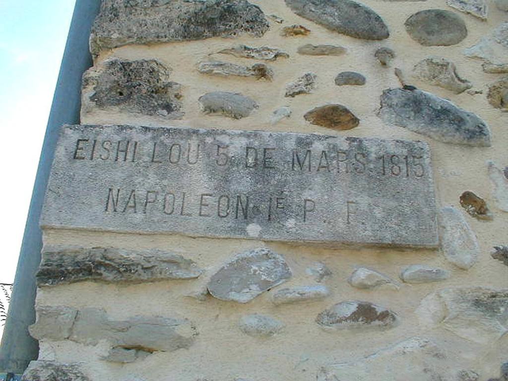 The stone plaque in Volonne: a very small event in a much larger story.