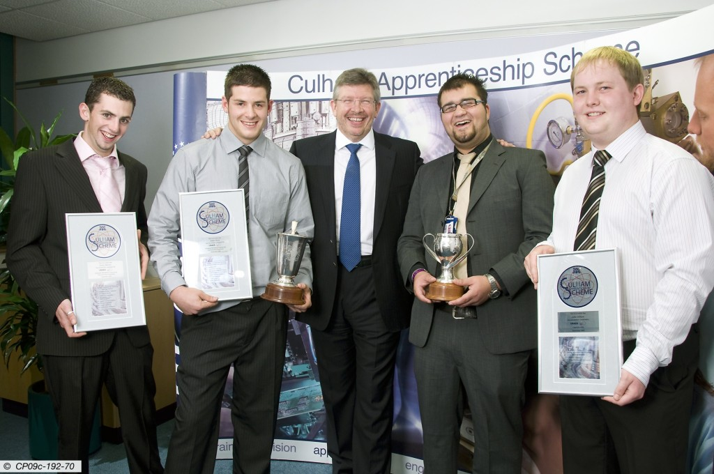 Formula-One mastermind Ross Brawn was the guest of honour at UKAEA's annual apprentice prize-giving event at Culham this week.