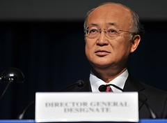 Ambassador Yukiya Amano of Japan will become the next Director-General as of 1 December 2009.  (Click to view larger version...)